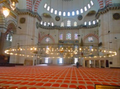 Inside of Blue Mosque