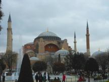 The famous Hagia Sophia
