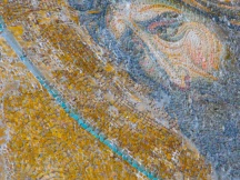 leftover Christian mosaic