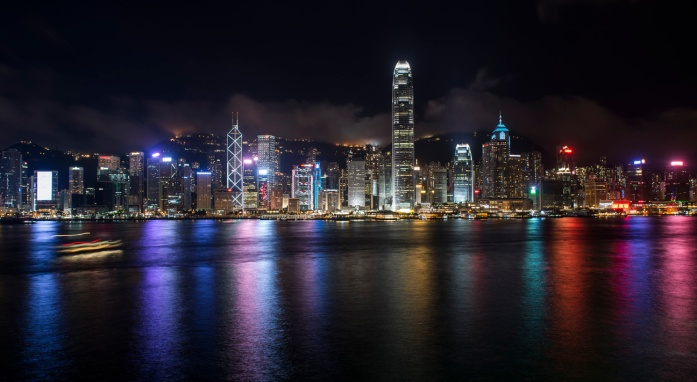 View over Victoria Harbour