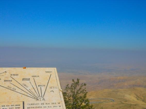 View from Mt. Nebo, Jordan