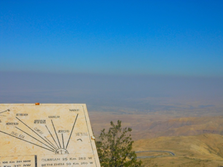 View from Mt. Nebo, Jordan