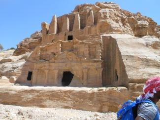 Obelisk Tomb in Petra, Jordan